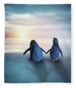 Happy Feet Fleece Blanket