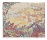 Harmonious Times By Signac Fleece Blanket