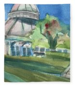 Haupt Conservatory At Nybg Fleece Blanket
