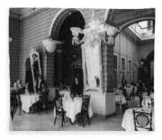 Havana Cafe, C1904 Fleece Blanket