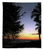 Hawaii Sunset Fleece Blanket