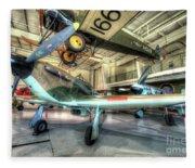 Hawker Hurricane Fleece Blanket