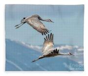 Headed North Fleece Blanket