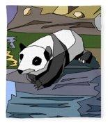 Heathers Panda V2 Fleece Blanket