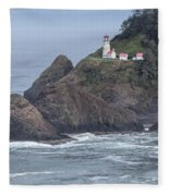 Heceta Head Light Fleece Blanket