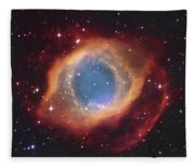 Helix Nebula Fleece Blanket