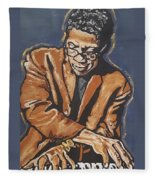 Herbie Hancock Fleece Blanket