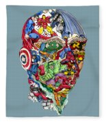 Heroic Mind Fleece Blanket