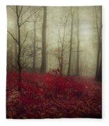 Hidden Place Fleece Blanket