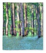 High Bayou Water Fleece Blanket