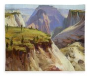 High On Zion Fleece Blanket