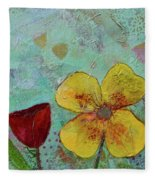 Holland Tulip Festival Iv Fleece Blanket