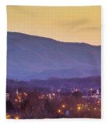 Holston Mountain Over Tennessee High Fleece Blanket