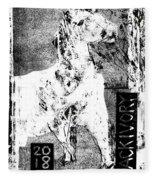 Horse Front 3 Fleece Blanket