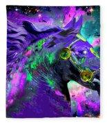 Horse Head Nebula II Fleece Blanket