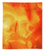 Hot Skull Fleece Blanket