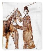 How The Camel Got His Hump Digital And Drawings D4-1 Fleece Blanket