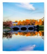 Hoyt Lake Fleece Blanket