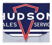 Hudson Motor Co. Fleece Blanket