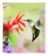 Hummingbird Fancy Fleece Blanket