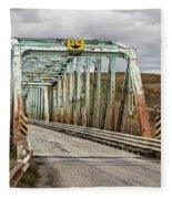 Hwy 552 Bridge Fleece Blanket