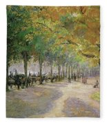 Hyde Park, London, 1890 Fleece Blanket