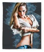 I.allyson. Fleece Blanket