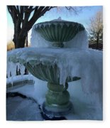 Ice Fountain Fleece Blanket