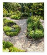 If Gulliver Had A Herb Garden Fleece Blanket