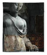 If Not For You - Statue Fleece Blanket