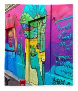 If You Love Graffiti  Fleece Blanket