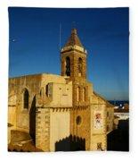 Iglesia De La O, Rota, Spain Fleece Blanket