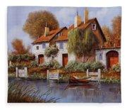 Il Salice Fleece Blanket