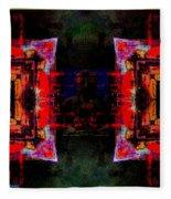 imagery in healing in a Buddhism way Fleece Blanket