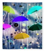 Imagination Raining Wild Fleece Blanket