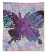 Imagine Butterfly Fleece Blanket