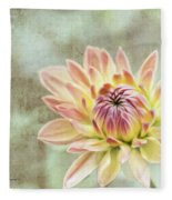 Impression Flower Fleece Blanket