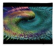 In The Eye Of The Storm II Altered  Fleece Blanket