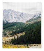 Independence Pass Fleece Blanket