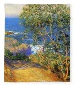 Indian Tobacco Trees La Jolla 1916 Fleece Blanket