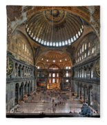 Interior, Hagia Sophia Museum Fleece Blanket
