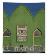 Irish Coffee Fleece Blanket