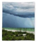 Island Rain Fleece Blanket