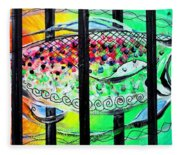 Jail Fish 135826 Fleece Blanket