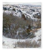 January Badlands Fleece Blanket