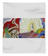 Japanese Modern Interior Art #153 Fleece Blanket
