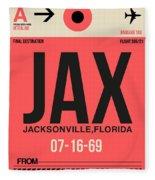 Jax Jacksonville Luggage Tag I Fleece Blanket