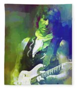 Jeff Beck, Love Is Green Fleece Blanket