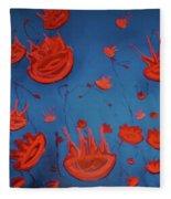Jelly Fish Fleece Blanket