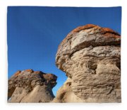 Jerusalem Geology Fleece Blanket